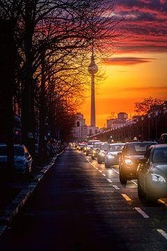 Berlin Traffic Jam von Iman Azizi