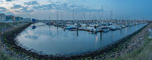 Panorama jachthaven IJmuiden