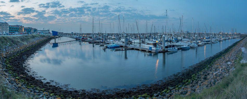Panorama jachthaven IJmuiden van Ardi Mulder