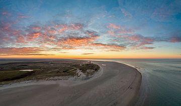 Texel - Vuurtoren vlak voor de winter van Texel360Fotografie Richard Heerschap