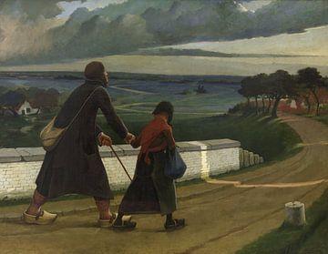 Der Blinde, Eugène Laermans von
