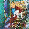 Tintin und Bobbie  von Frans Mandigers Miniaturansicht