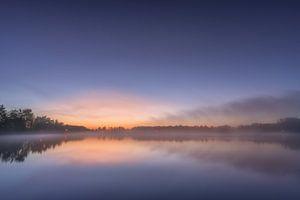 Kalmerende zonsopgang aan de Allersee