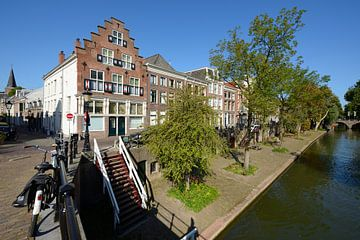 Oudegracht in Utrecht tussen Geertebrug en Smeebrug sur In Utrecht