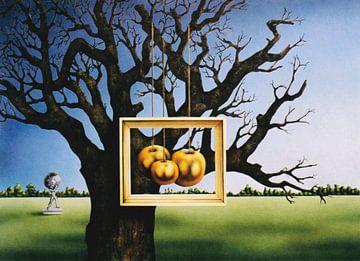 Die goldenen Äpfel im Garten der Hesperiden. von Ine Tresoor