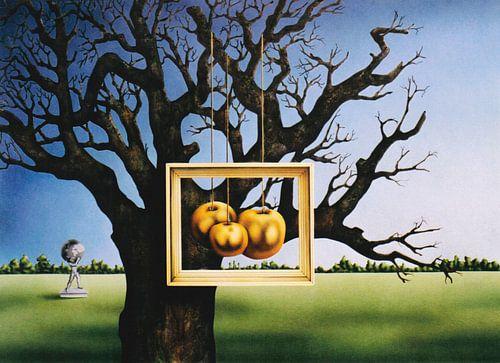 Les pommes d'or du jardin des Hespérides sur
