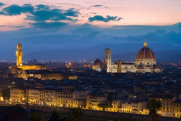 Schöne Skyline von Florenz von Roelof Nijholt