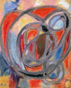 Komposition (runde und ovale Formen), ADOLF HÖLZEL, ca. 1930