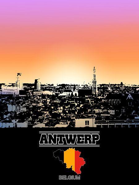 Antwerpen von Printed Artings