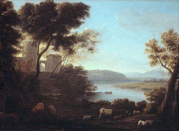 Paysage pastoral: la campagne romaine, Claude Lorrain sur