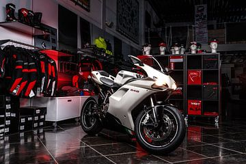 Ducati 848 Motor von Bas Fransen