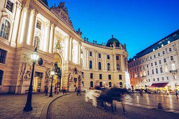 Vienna Hofburg / Michaelerplatz Square van Alexander Voss