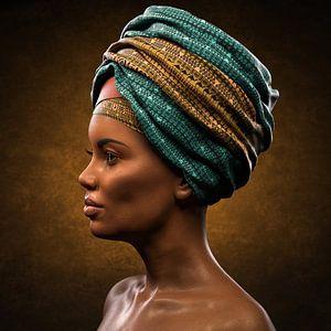Natürliche afrikanische Schönheit