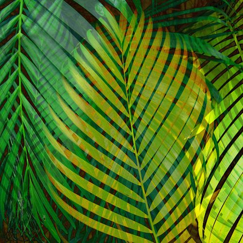 TROPICAL GREENERY LEAVES 9a von