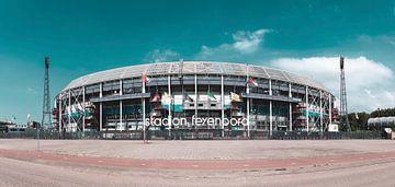 Feyenoord stadion ' de Kuip ' Moderne toning van