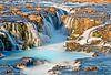 Waterval te IJsland van Anton de Zeeuw thumbnail