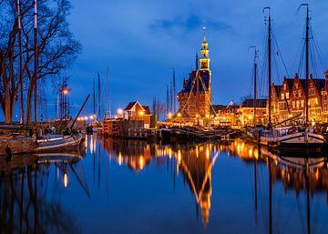 Avond in Hoorn, Nederland van Adelheid Smitt