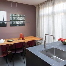 Kundenfoto: abstrakt, Büro von Alies werk, auf alu-dibond