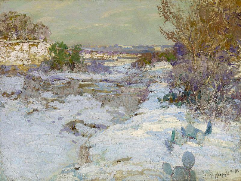 Schnee im Steinbruch, Julian Onderdonk von Meesterlijcke Meesters
