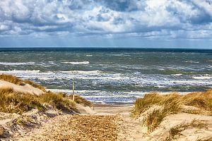 Strandopgang Noordzee