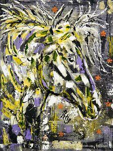 Paardengeest van Kathleen Artist Fine Art