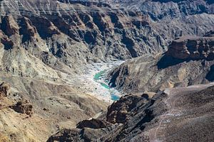 Fish River Canyon in Zuid Namibië van