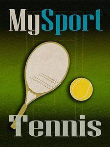 My sport Tennis van Joost Hogervorst