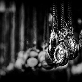 Portobello Road... (zwart, wit, Londen) von Bob Daalder