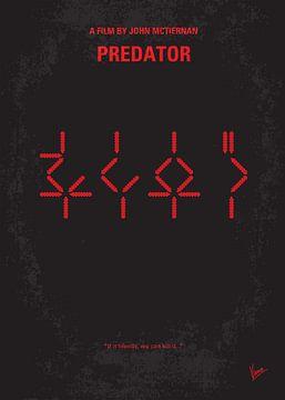 No066 My predator minimal movie poster van Chungkong Art