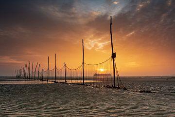Fähre nach Texel Sonnenaufgang von Ronald Timmer