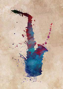 Saxofoon 6 muziekkunst #saxofoon #muziek van JBJart Justyna Jaszke