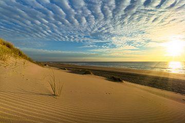 Zonsondergang Texel von