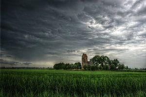 Skies over Friesland van