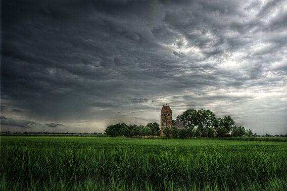 Skies over Friesland van Mike Bing