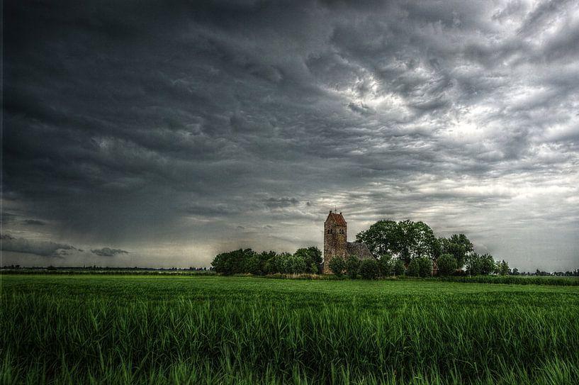 Skies over Friesland von Mike Bing