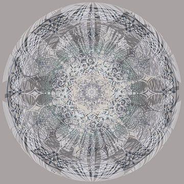 Kaleidoscoop in grijstinten van Rietje Bulthuis