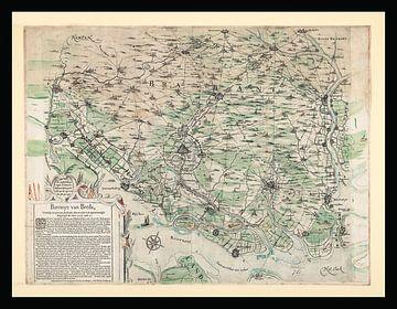 Baronie von Breda um 1625 von Gert Hilbink