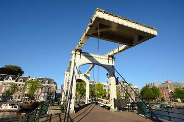 De Magere Brug over de Amstel in Amsterdam sur Merijn van der Vliet