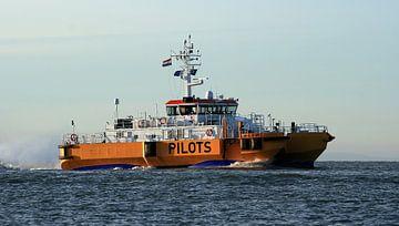 Loodsboot Vlissingen van MSP Canvas