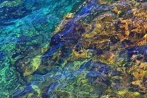 Tropisch gekleurd water