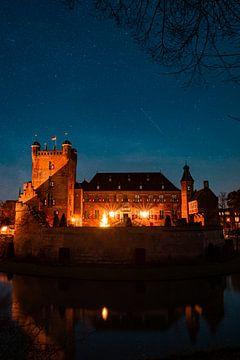 Kasteel Huis Bergh onder de sterren van Marco Scheurink