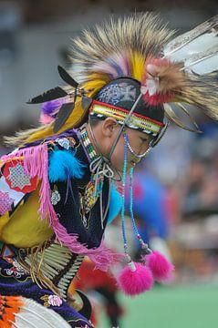 Blackfoot Indiaan von Lex van Doorn