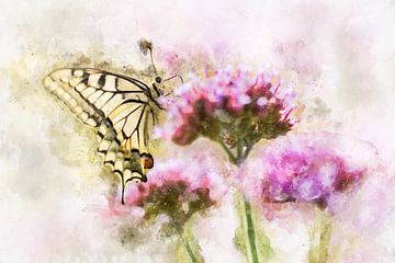 Vlinder 13 van Silvia Creemers