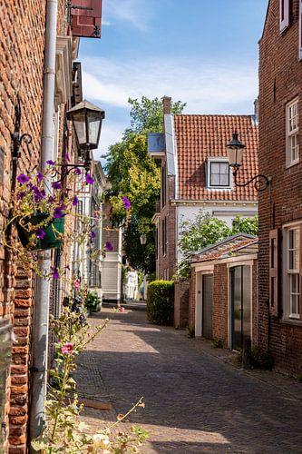 Maisons murales d'été à Amersfoort
