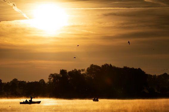 Sonnenaufgang am Seeburger See von Andreas Müller