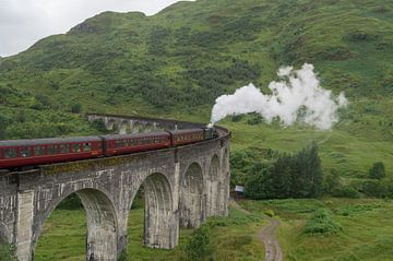 Glenfinnan trein viaduct sur Andrea Ooms