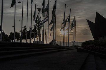 Rotterdam vlaggen 3 von Oguzhan Beyaztas
