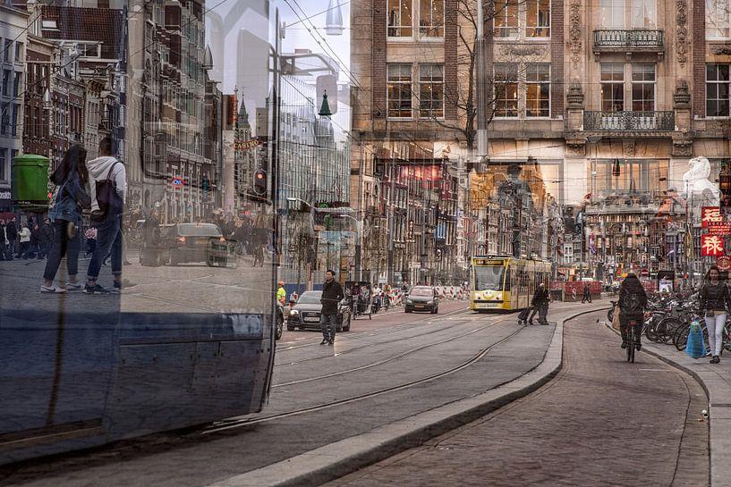 Amsterdamse straatleven van Dennisart Fotografie