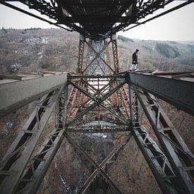 marcheur de pont sur Flave_de