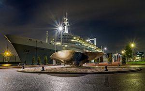 Het SS Rotterdam van MS Fotografie | Marc van der Stelt